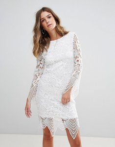 Read more about Glamorous lace dress - white