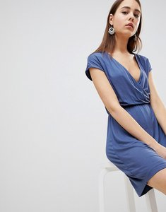 Read more about Brave soul crissy wrap dress - indigo