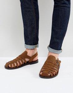 Read more about Aldo malvyn woven sandals - tan