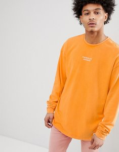 Read more about Fairplay anderson long sleeve t-shirt in orange - orange