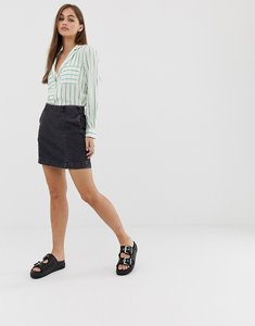 Read more about Noisy may mini denim skirt