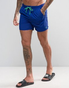 Read more about French connection swim shorts with contrast draw string and inner - blue