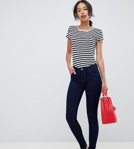 Read more about Only tall skinny leg push up effect jean in blue