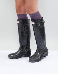 Read more about Hunter original boot in glitter - black multi