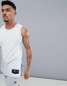 1b1ee99f3e5b2 Read more about Adidas basketball gym vest az2049 - grey