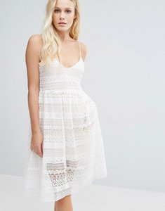 Read more about Little white lies impala dress - white