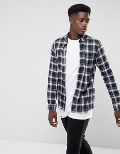 Read more about Minimum pelham checked shirt - navy