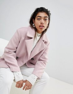 Read more about Mango pea coat - lilac