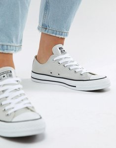 Read more about Converse chuck taylor all star low trainers in grey - mouse grey