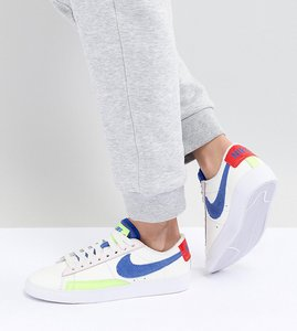 Read more about Nike panache pack blazer trainers - multi