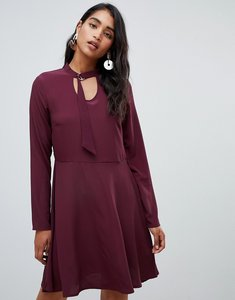 Read more about Vila buckle neck dress - winetasting