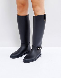 Read more about Asos grange riding wellies - black
