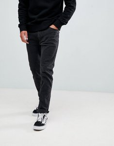 Read more about Bershka slim fit jeans in washed black - black