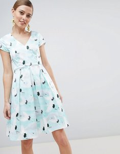 Read more about Closet london pleat skirt dress - multi