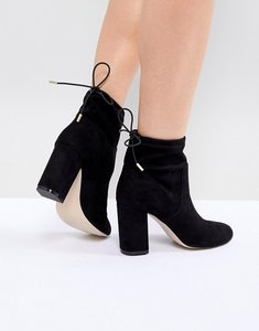 Read more about Steve madden block heeled boots - black