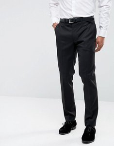 Read more about Farah skinny tuxedo suit trousers - black
