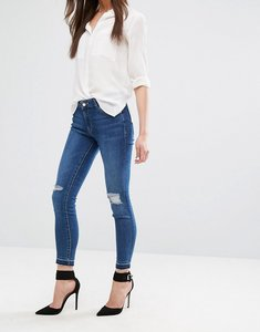 Read more about Dl1961 margaux skinny jean with ripped knees - cracked
