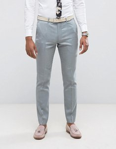 Read more about Farah skinny wedding suit trousers in mint - mint