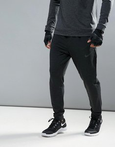 Read more about Nike training dri-fit fleece joggers in black 742212-010 - black