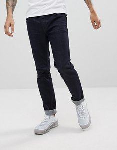 Read more about Wesc eddy slim fit jeans in rinse denim - blue