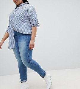 Read more about Junarose slim jeans - light blue denim