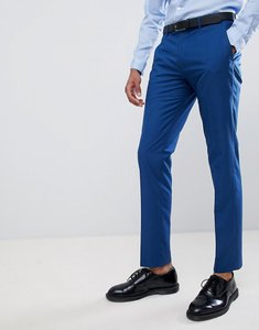 Read more about Farah skinny wedding suit trousers in blue - regatta blue