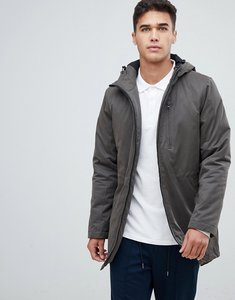 Read more about Lindbergh fishtail parka jacket in khaki - dk army