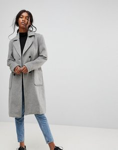 Read more about B young classic belted coat - grey