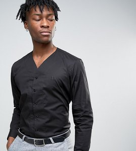 Read more about Hart hollywood slim v neck shirt - black