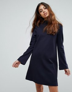 Read more about Vero moda high neck dress - navy