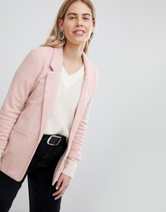 Read more about New look ponte blazer - nude