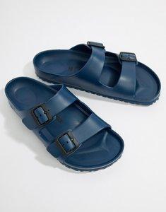 Read more about Birkenstock arizona eva sandals in navy - navy