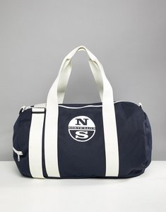 Read more about North sails large duffle bag with logo in navy - navy