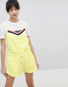 Read more about Nike romper in yellow terry towelling - yellow