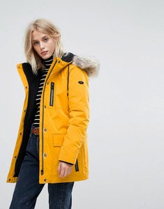 Read more about Esprit down parka jacket - yellow