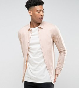 Read more about Asos tall skinny shirt in pink - pink