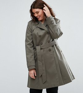 Read more about Asos curve skater mac - khaki