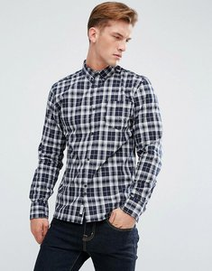 Read more about Bellfield flannel check shirt - blue