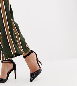 Read more about Asos primrose pointed heels - black