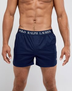 Read more about Polo ralph lauren woven boxers stretch slim fit in navy - cruise navy