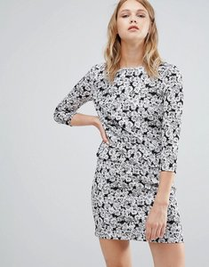 Read more about Warehouse daisy print mini dress - multi