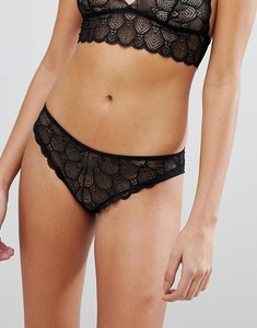 Read more about Y a s lace brief - black