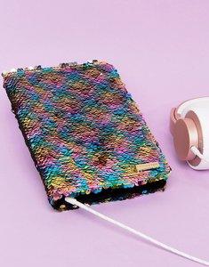 Read more about Skinnydip rainbow glitter mini ipad case - multi