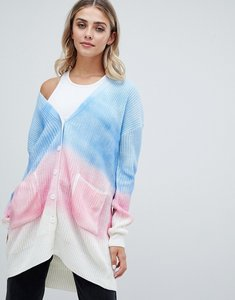 Read more about Missguided tie dye cardigan - multi