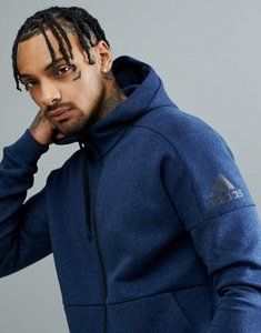 Read more about Adidas athletics stadium full zip hoodie in navy cg2089 - navy