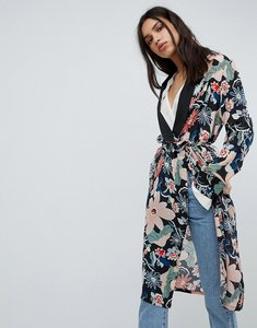 Read more about Lily and lionel long kimono jacket in vintage floral - vintage floral