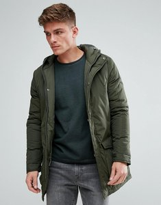 Read more about Solid parka with hood - 3400