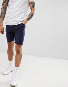 Read more about Asos design denim shorts in skinny navy - navy