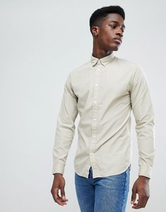 Read more about Selected homme slim oxford shirt - plaza taupe