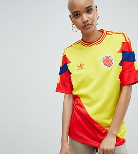 Read more about Adidas originals colombia mashup football shirt - yellow
